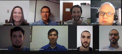 Los ocho investigadores que elaboraron los tres escenarios para el 20 de enero