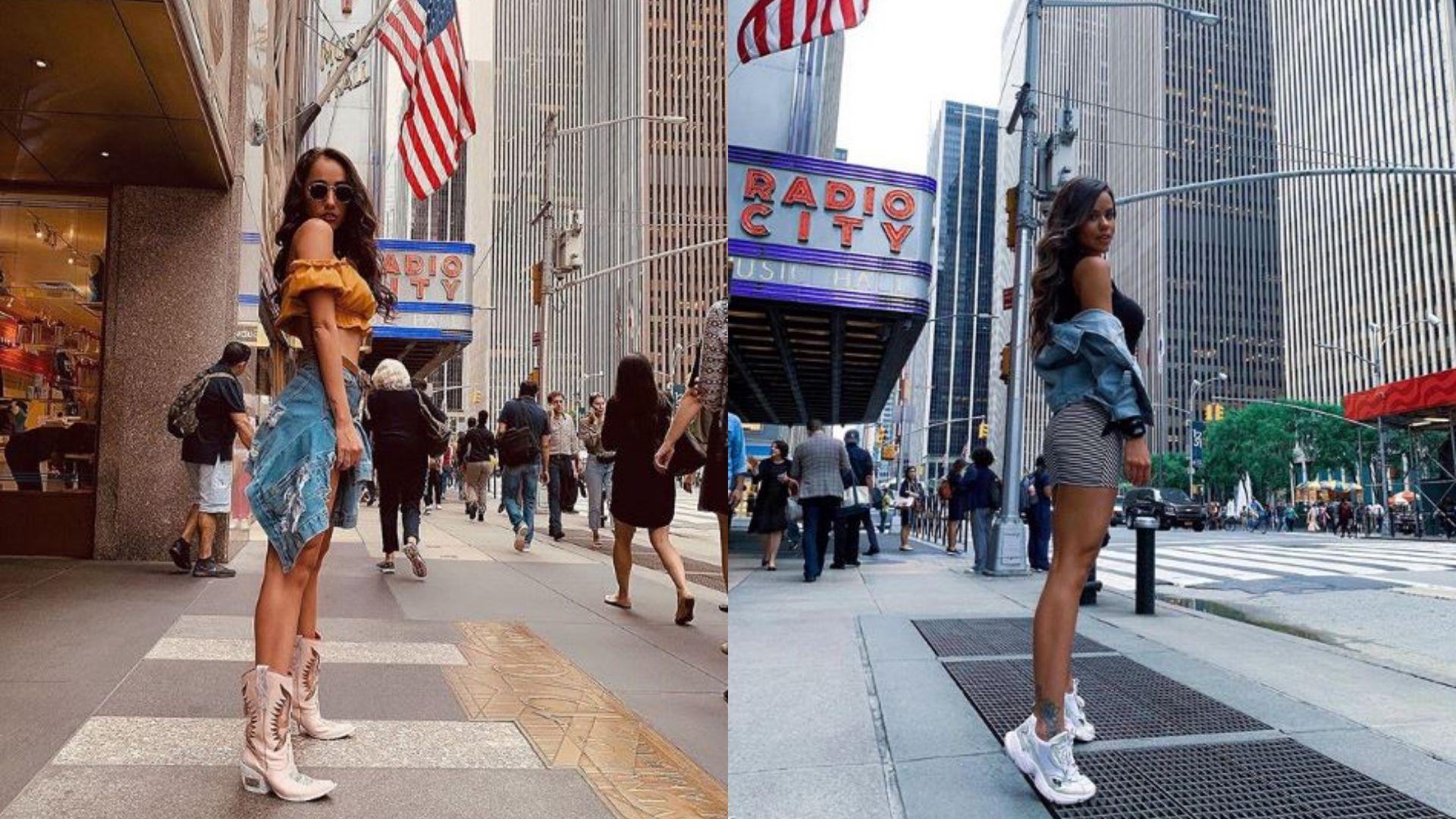 Ambas modelos coincidieron en Nueva York, pero María del Mar negó haber asistido a la fiesta de la Selección Mexicana (Foto: Especial)