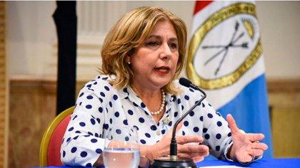 La ministra de Salud de Santa Fe, Sonia Martorano