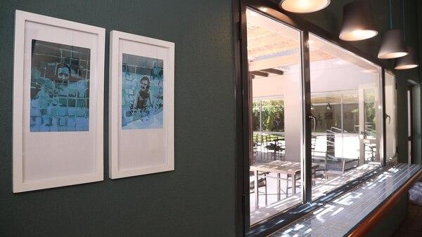 En el hotel se recuerda el salto del músico (Marcelo Ruiz)