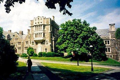 El campus de la Universidad de Princeton