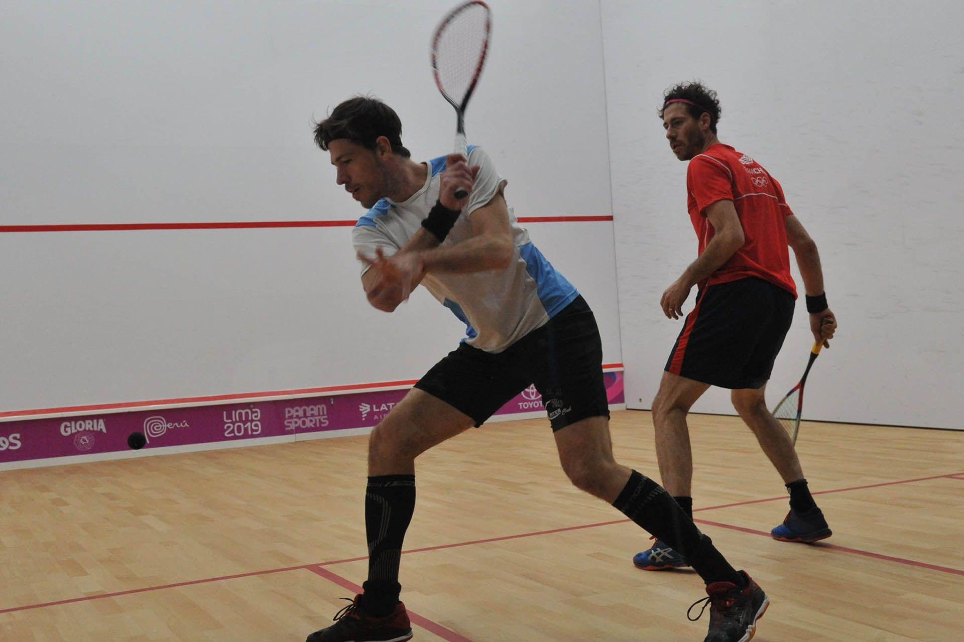 Roberto Pezzota cayó en las semifinales del squash individual yse quedó con la medalla de bronce para Argentina (COA)