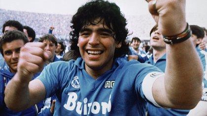 Se filtraron las primeras imágenes de la nueva serie de Diego Maradona