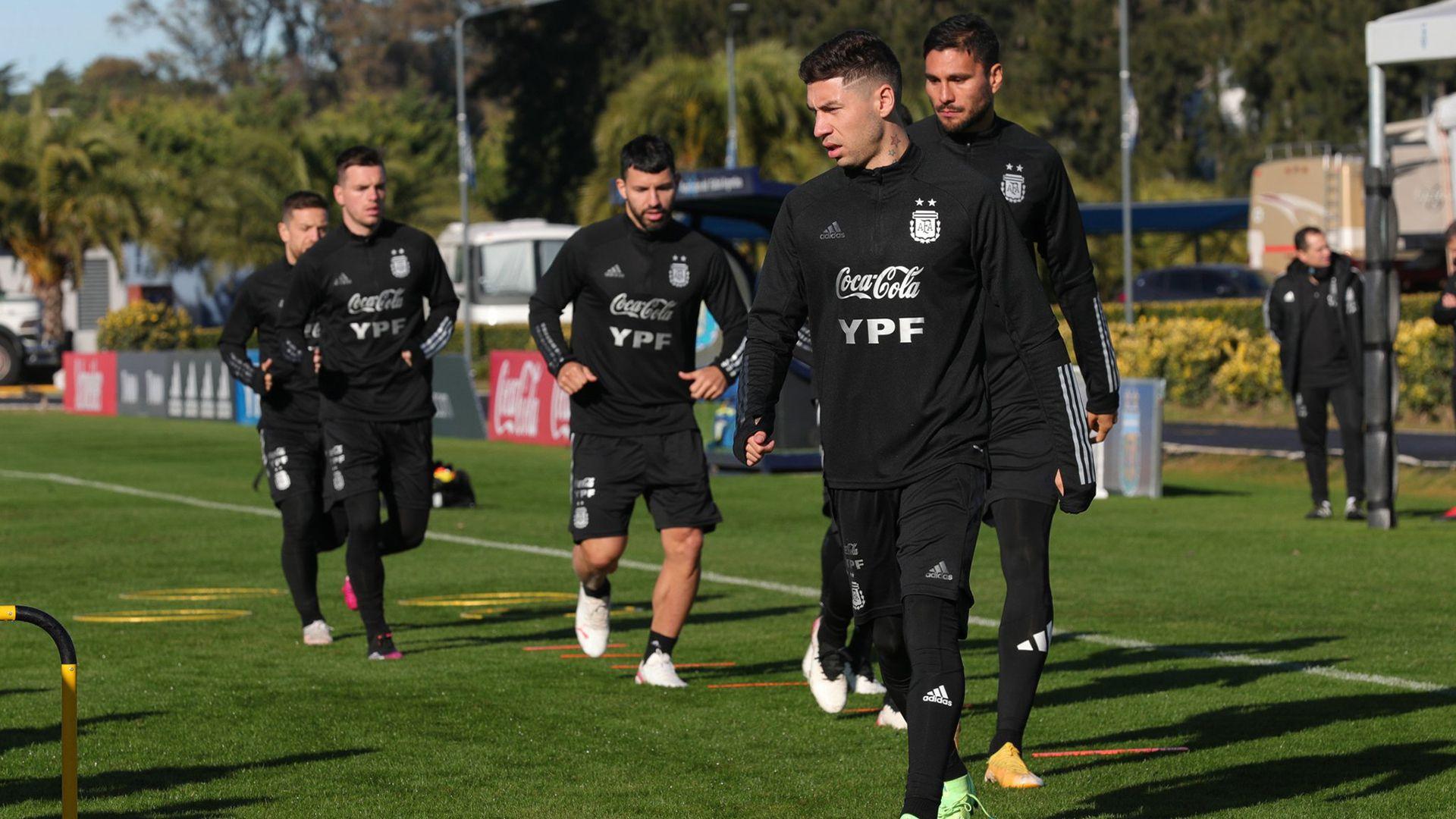 Montiel en la Selección Argentina