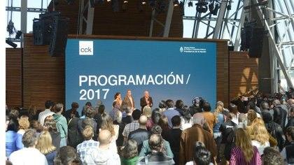 El CCK presentó su programación para 2017