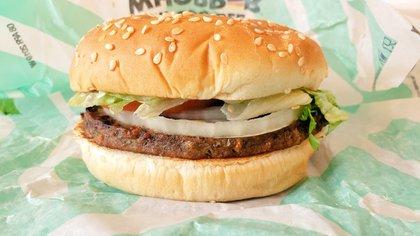 La Impossible Whopper, de Burger King, es la réplica sin carne de la icónica hamburguesa de ternera asada a la parrilla (Foto: Opy Morales)
