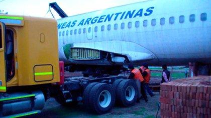 El avión fue comprado por 65 mil dólares en un remate de la Aduana chilena y su traslado costó otros 18 mil.