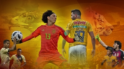 Ochoa volverá a encontrarse con André-Pierre Gignac, quien ya le anotó un gol cuando ambos jugaban en Francia. (Imagen: Jovani Pérez Silva/Infobae México)
