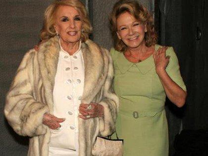 Con Soledad Silveyra