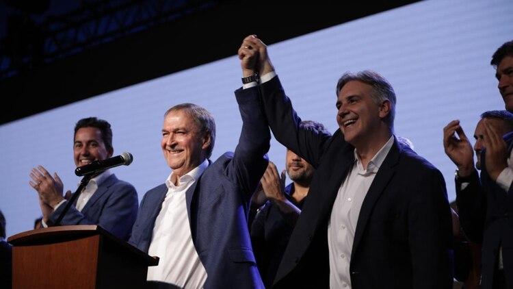 Juan Schiaretti y Martín Llaryora