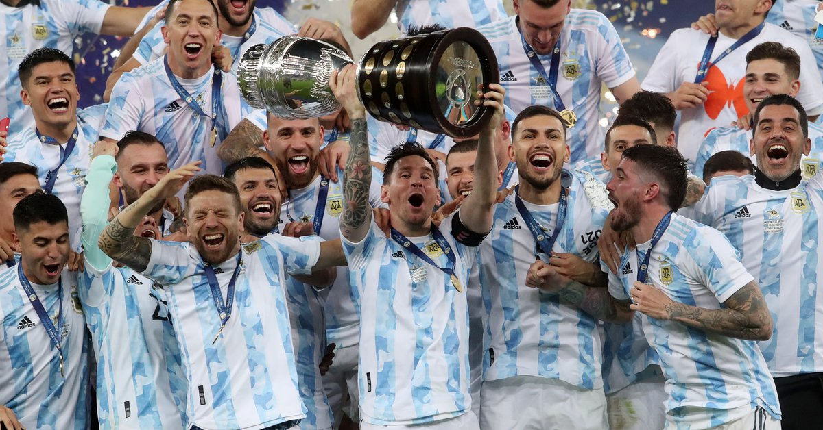 Histórico: Argentina le ganó a Brasil y se consagró campeón de la Copa  América - Infobae