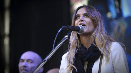 La conductora Amalia Granata