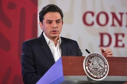 Zoé Robledo, director del IMSS, explicó que el mayor número de solicitudes de alojamiento los recibieron de personal de la Ciudad de México (Foto: Cortesía Presidencia)