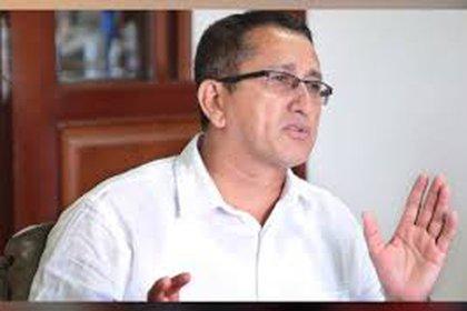 Rubén Zamora, dirigente del partido de las Farc en el Norte de Santander. Foto: Farc.