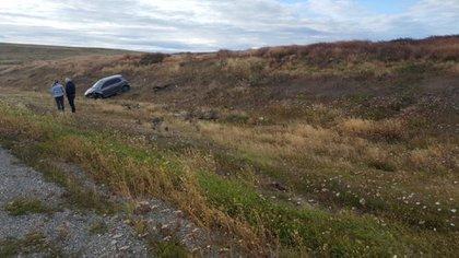 Tras abandonar el auto, el agresor se dio a la fuga