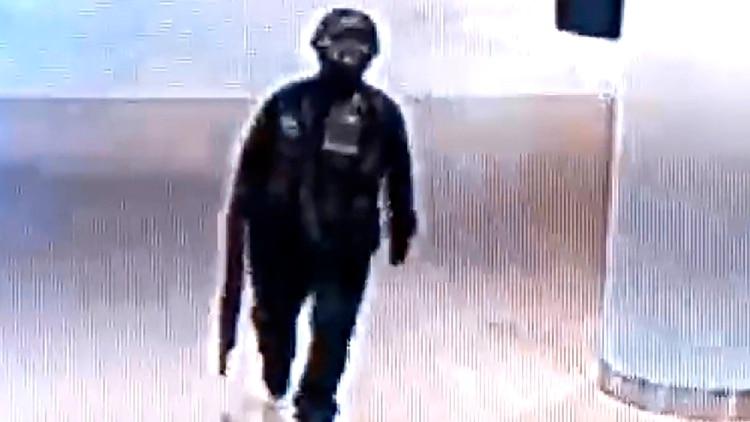 Imagen de una cámara de seguridad del shopping (EFE)
