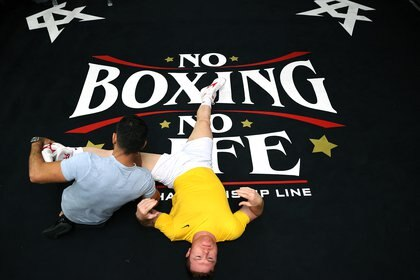 El lugar de la pelea será en el AT&T Stadium de Arlington. (AFP / SEAN M. HAFFEY)