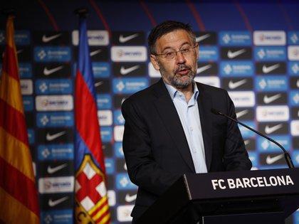 El presidente del FC Barcelona, Josep Maria Bartomeu. EFE/Alejandro García/Archivo