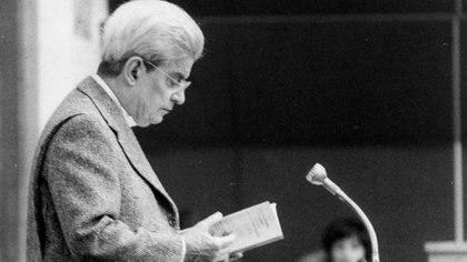 Jacques Lacan en 1978 (Foto: Sipa/Shutterstock)