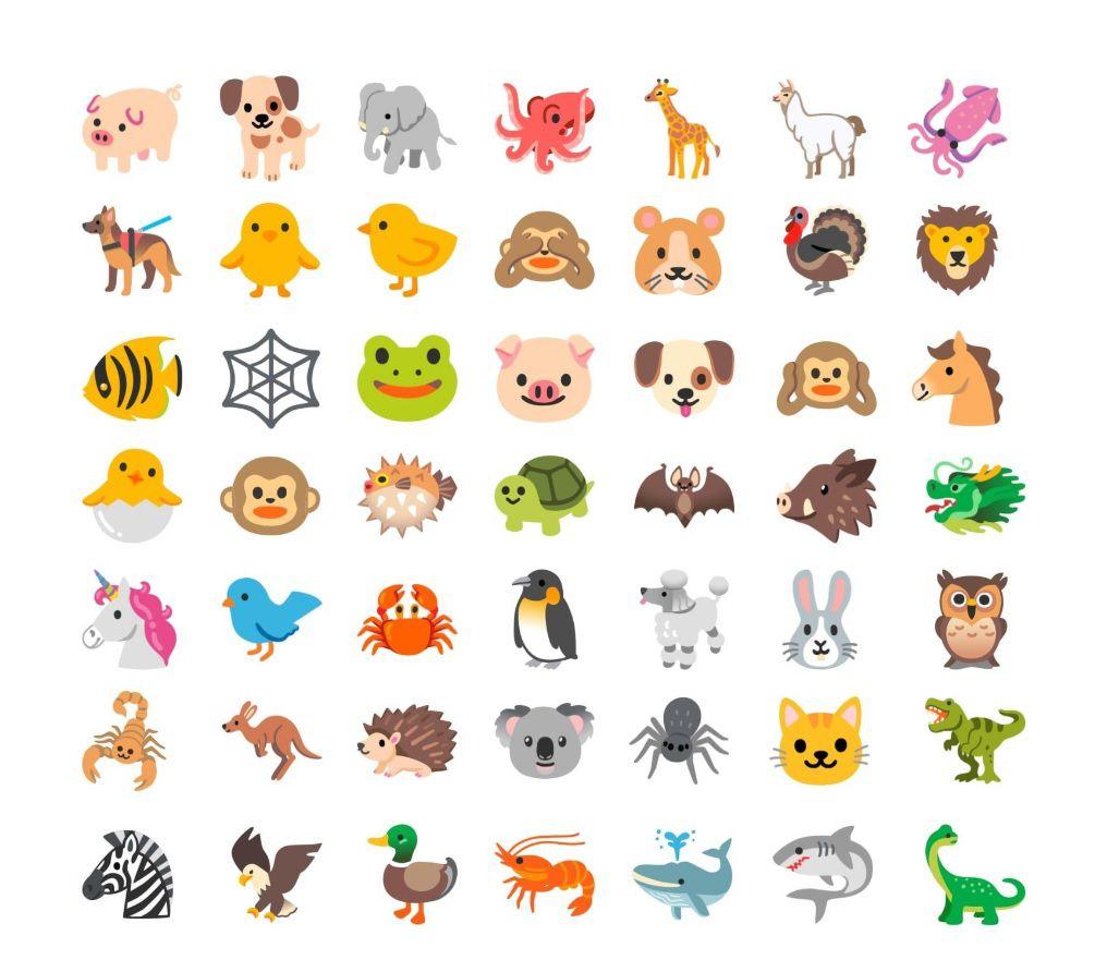 Emojis Android 2020 (emojipedia)