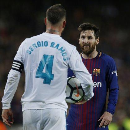 Sergio Ramosy Lionel Messi