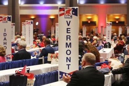 Delegados reunidos en la Convención (Reuters)