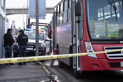 El transporte público es uno de los lugares más afectados por el delito en Ecatepec, pues el 94.4% de la población de esta localidad urbana se siente inseguro durante sus traslados (Foto: Artemio Guerta Baz/Cuartoscuro.com)