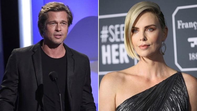 Brad Pitt y Charlize Theron tienen un romance
