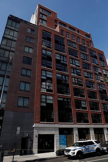 Fotografía del bloque de apartamentos en el que Fahim Saleh fue asesinado, en el número 265 de Houston Street (Foto: REUTERS/Shannon Stapleton)