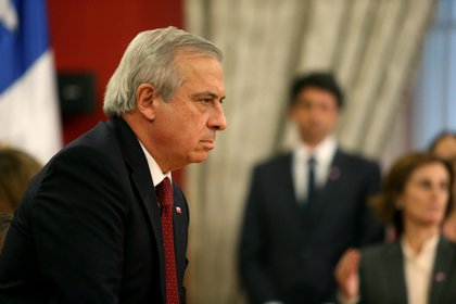 El destituido ministro de Salud de Chile, Jaime Mañalich (EFE/Alberto Peña/Archivo)