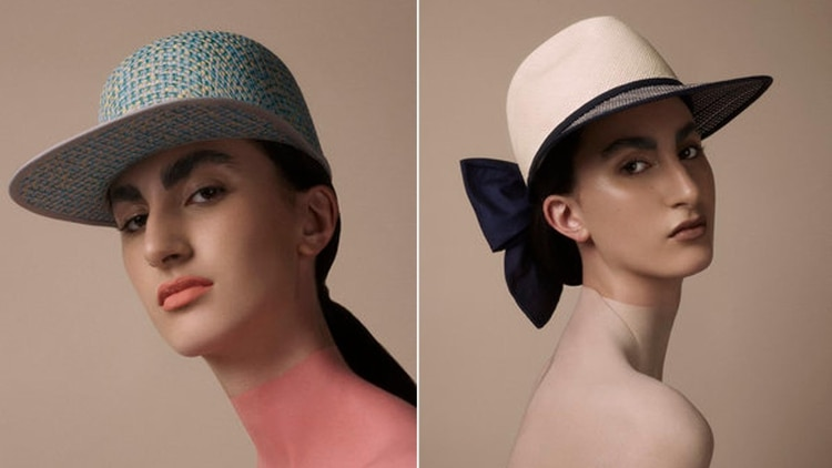 9af8f3ae7b5d2 Florencia Tellado impone un estilo urbano a los glamorosos sombreros