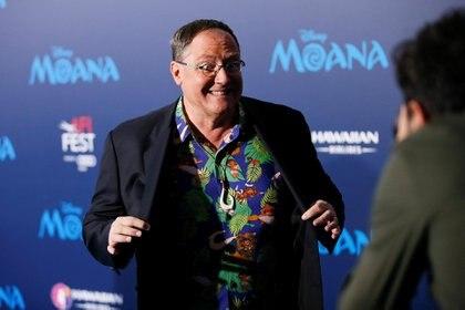 John Lasseter en 2016. Al creador de Pixar y Toy Story todavía no lo había alcanzado el #MeToo. Debió renunciar a un alto cargo en Disney. REUTERS/Danny Moloshok