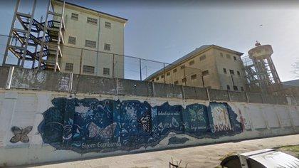 Los muros del penal de Devoto
