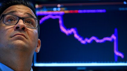 Un operador de Wall Street (AFP)