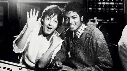 Paul McCartney Michael Jackson