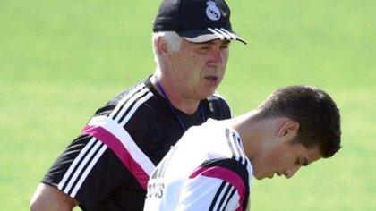 Ancelotti y James Rodríguez se conocieron por primera vez a mediados de 2014.