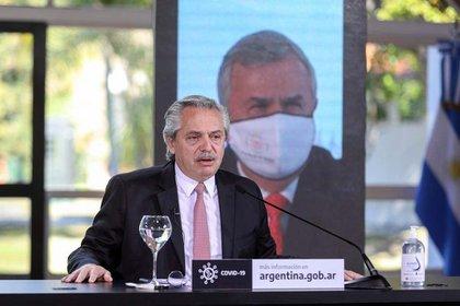 El presidente argentino, Alberto Fernández, Foto: Presidencia via telam/dpa