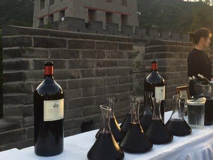 Los cinco vinos protagonistas de la degustación en La Muralla China fueron el fruto del estudio de muchos años, desde la plantación del viñedo en Gualtallary, a mediados de los 90