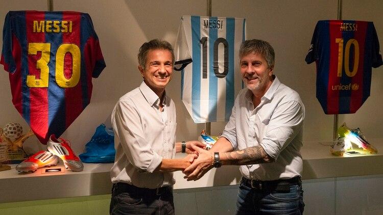Fundación Messi, en alianza con Fundación Garrahan, formalizó el apoyo a la investigación en cáncer infantil a través de la Unidad Ejecutora I+G (Garrahan – Conicet)