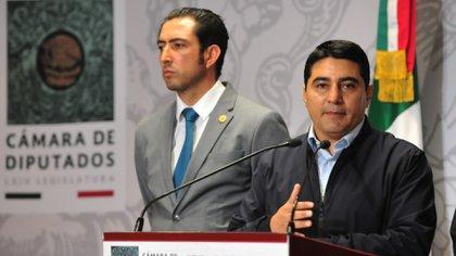 Erik Morales buscará que continúen los apoyos a deportistas de alto rendimiento (Foto: Cortesía Cámara de Diputados)