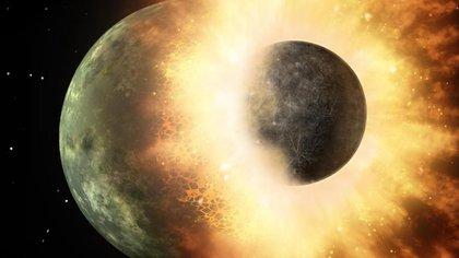 Rocas lunares del programa Apolo avalan la teoría del impacto gigante (NASA)