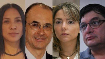 Quiénes son los cuatro nuevos consejeros del INE (Foto: Colage Steve Allen)