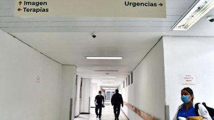 Vista de uno de los pasillos del Hospital Juárez, en Ciudad de México (México). EFE/ Jorge Núñe/Archivo