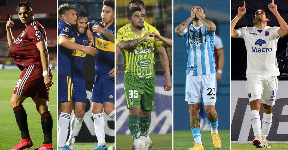 Así quedaron los equipos argentinos en sus grupos de Copa Libertadores tras el reinicio de la actividad - Infobae