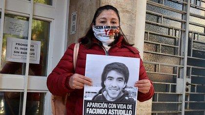 Cristina Castro, madre de Facundo, denunció una desaparición forzada