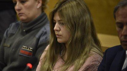 Brenda Barattini está acusada de cortarle los genitales a su amante(La Voz / Ramiro Pereyra)