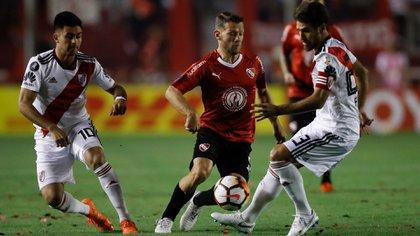 Domingo llegó a Avellaneda en el 2017 y se transformó en pieza clave del equipo (Foto: EFE)