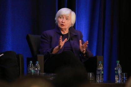 La secretaria del Tesoro, Janet Yellen.