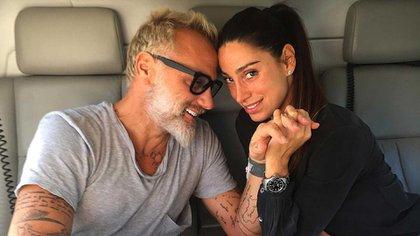 Gianluca Vacchi y su novia, Giorgia Gabriele
