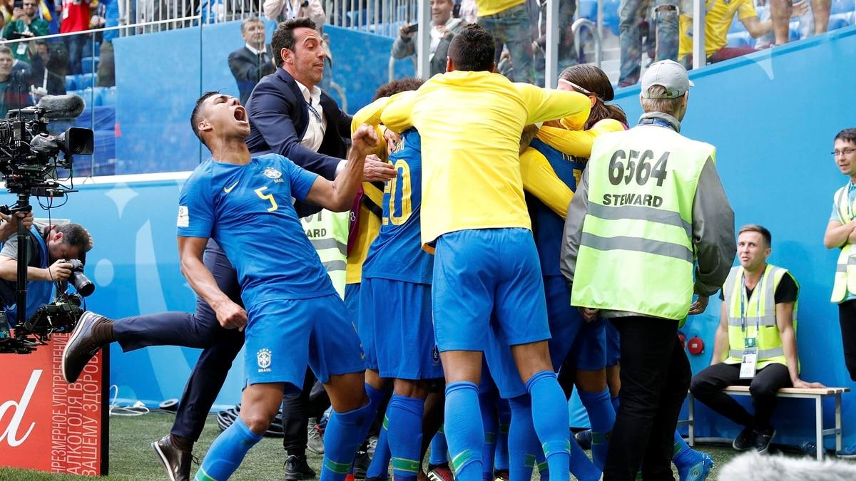 a7ba3f817c137 Brasil derrotó a Costa Rica en un final agónico y se encaminó a los octavos  de final del Mundial de Rusia 2018 - Infobae